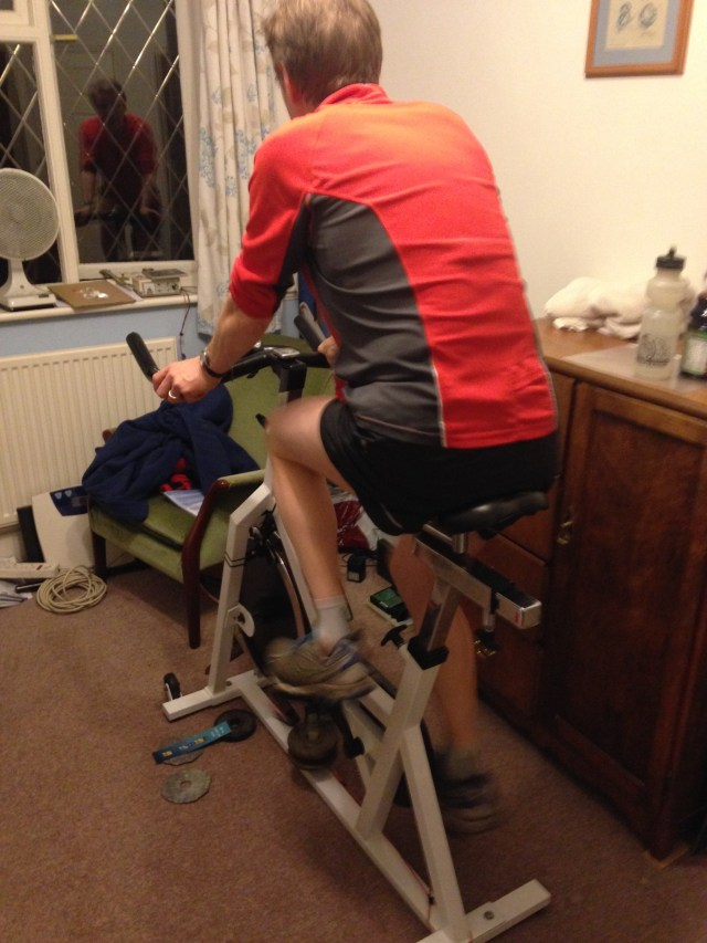 Slogging away on Paul's static cycle