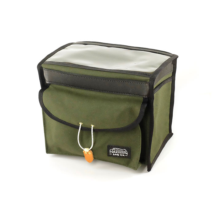 Waxwing Bag Co. Short Handlebar Bag