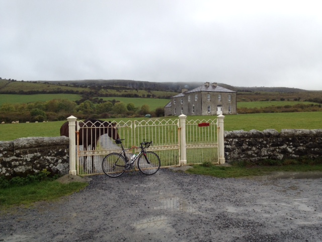 Father Teds lovely horse on Craggy Island tried to eat my saddle
