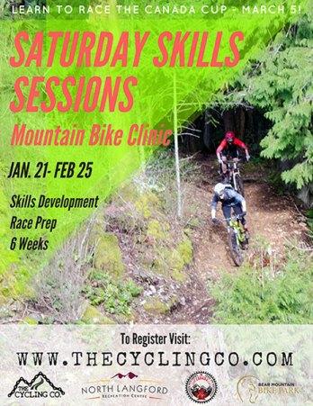 Mountain Bike Skills Clinic 2017