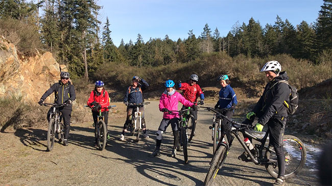 Mountain Bike Group Skills Session