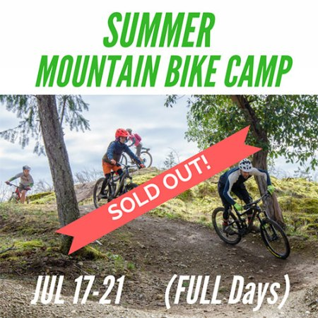 This Summer Mountain Bike Camp is Sold Out!
