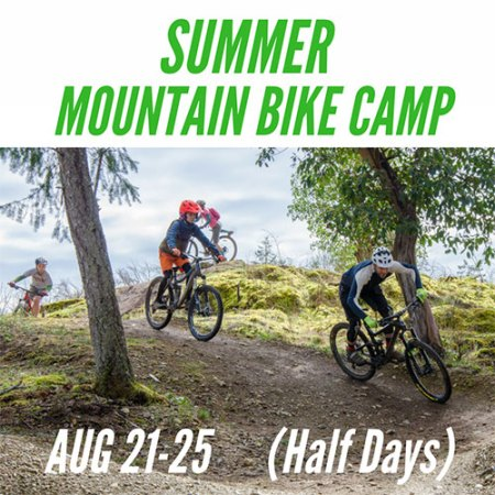 Kids Summer Mountain Bike Camp - August 21-25