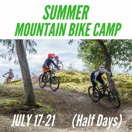 Kids Summer Mountain Bike Camp - July 17-21