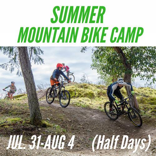 Kids Summer Mountain Bike Camp - July 31-Aug 4