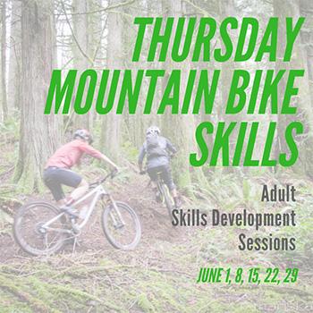 Thursday Mountain Bike Skills in June