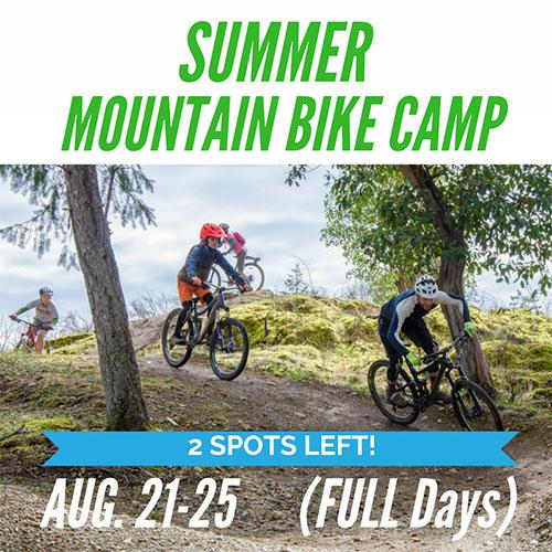Full Day Summer Mountain Bike Camp - Aug 21-25
