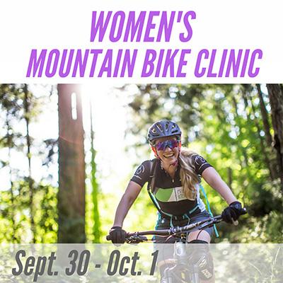 Women's Mountain Bike Clinic - Sept. 30-Oct 1