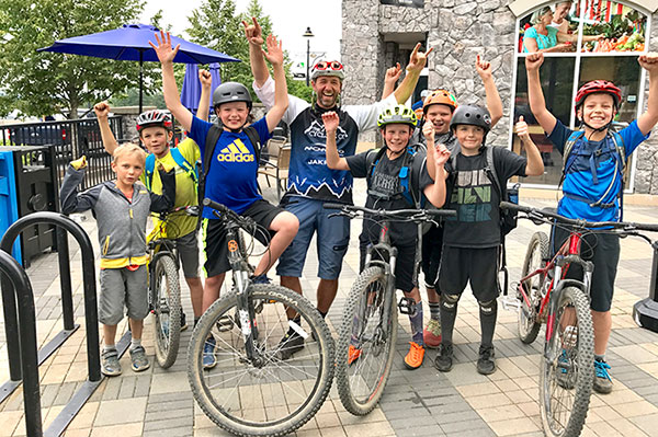 Pro-D Day Mountain Bike Camp at The Cycling Co.