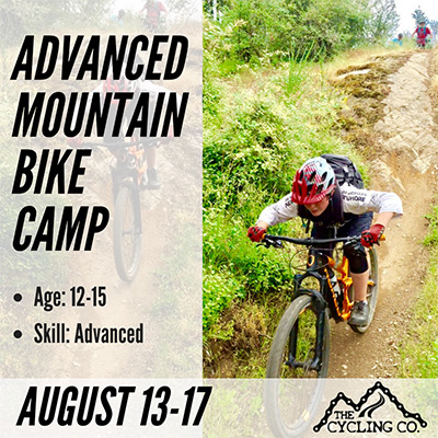 Advanced Mountain Bike Camp - Aug13-17