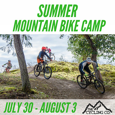 Summer Mountain Bike Camp - July 30-August 3
