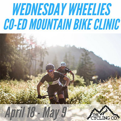 Weekly Wednesday Co-ed Mountain Bike Clinic_April18