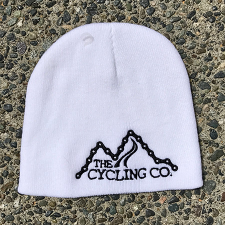 White The Cycling Co. Toque