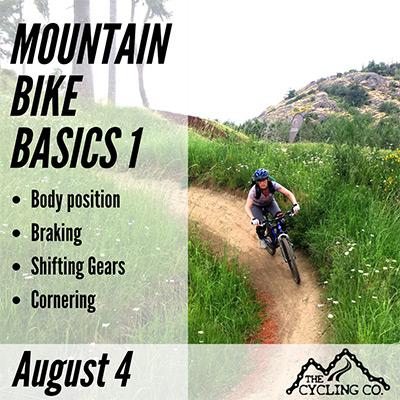 Mountain Bike Basics 1 - Aug4