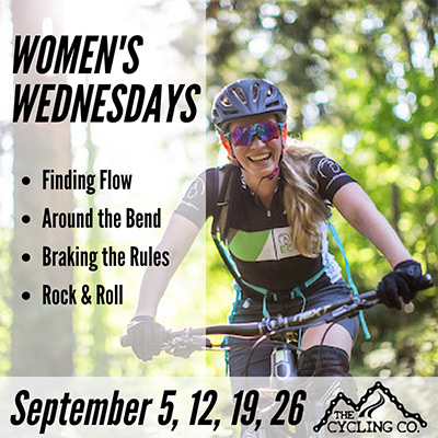 Women's Wednesdays, Advanced Mountain Biking in September