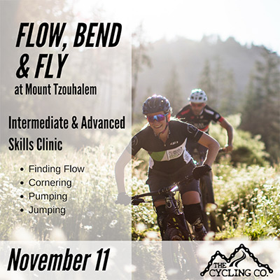 Flow Bend & Fly MTB Clinic - November 11