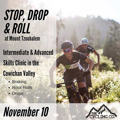 Stop Drop & Roll MTB Clinic - November 10