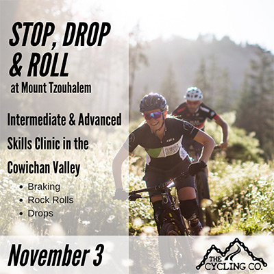 Tzouhalem Stop, Drop & Roll MTB Clinic - November3