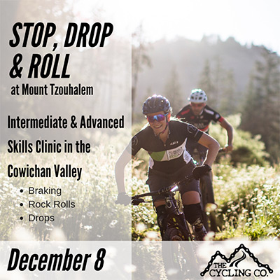 Stop Drop & Roll Mountain Bike Clinic - December 8