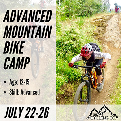 Advance Summer Mountain Bike Camp - July 22-26