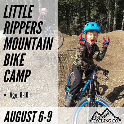 Little Rippers Summer Mountain Bike Camp - August 6-9