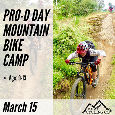 Pro-D Day Mountain Bike Camp - March 15