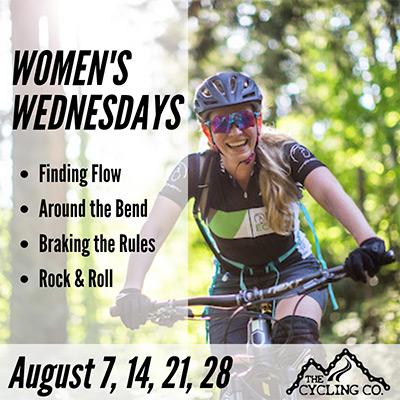 Women's Wednesdays Mountain Bike Program - August 2019