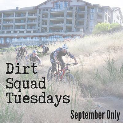 Dirt Squad Tuesdays - September 2019