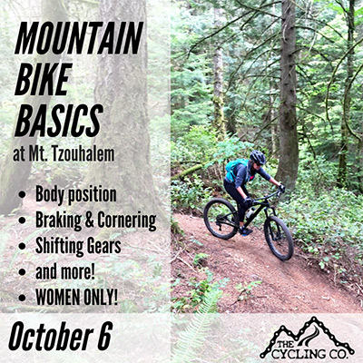 Mountain Bike Basics - October 6 - Women Only!