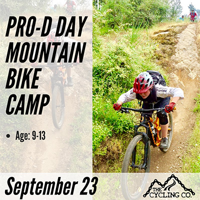 Pro-D Day Mountain Bike Camps - September 23