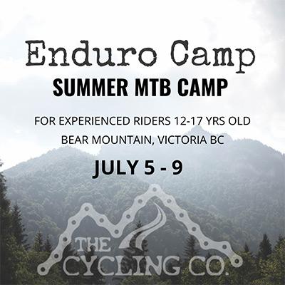 Enduro Mountain Bike Camp - July 5-9