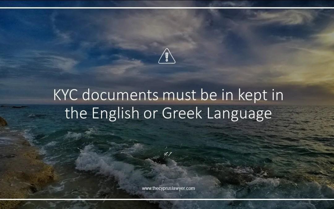 Tip 4.1 – Language of Documents