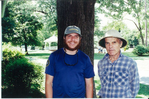 Me and Earl Schaffer in 1997