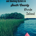 Kayaking and Oyster Shucking in Southern Rhode Island
