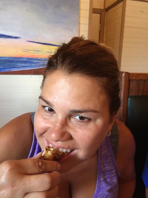 Lunch at Crazy Burger, Narragansett, Rhode Island