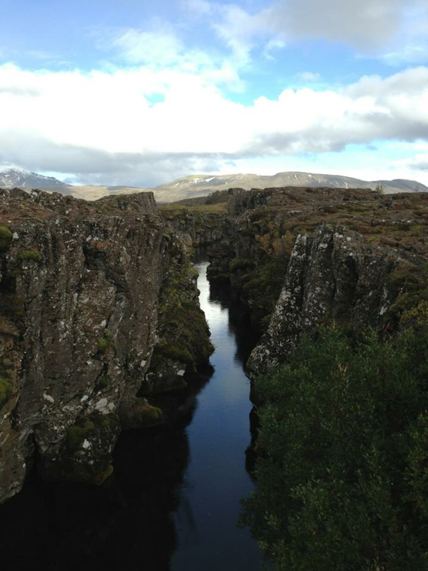 Pinglevir along the Golden CIrcle in Iceland