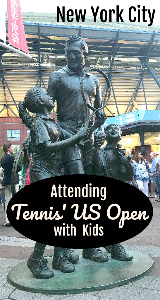 Read on for my tips to for attending the US' biggest tennis tournament with kids, New York's US Open. #Tennis #newyorkwithkids