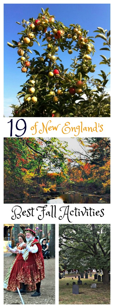 19 of New England's Best Fall Activities! This is the best time of year to explore New England. #VisitNewEngland #FallinNewEngland #fall #NewEngland #TBIN