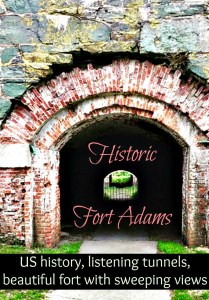 Historic Fort Adams and The Red Parrot Restaurant, Newport, RI