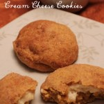 Pumpkin Snickerdoodle Cream Cheese Cookies