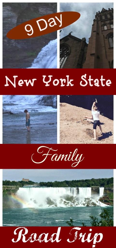 upstate New York state road trip