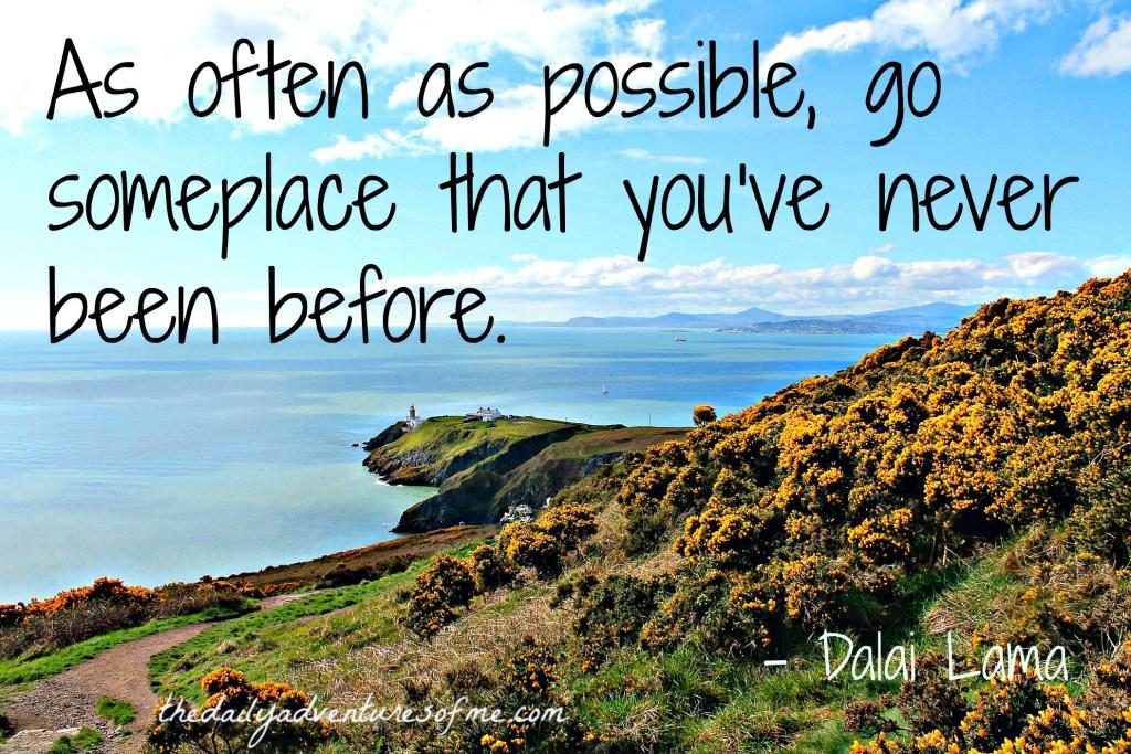 Thursday Travel Inspiration- Dalai Lama