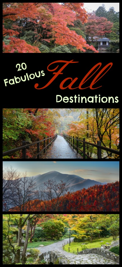 Read on for 20 of the best fall destinations in the world to make your fall travel dreams come true. #c2cgroup #autumntravels