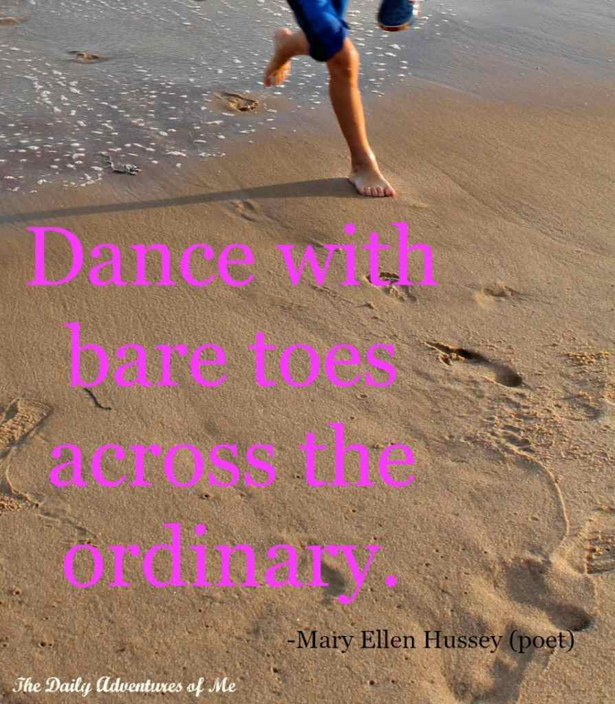 Bare Feet Travel Inspiration-  Mary Ellen Hussey
