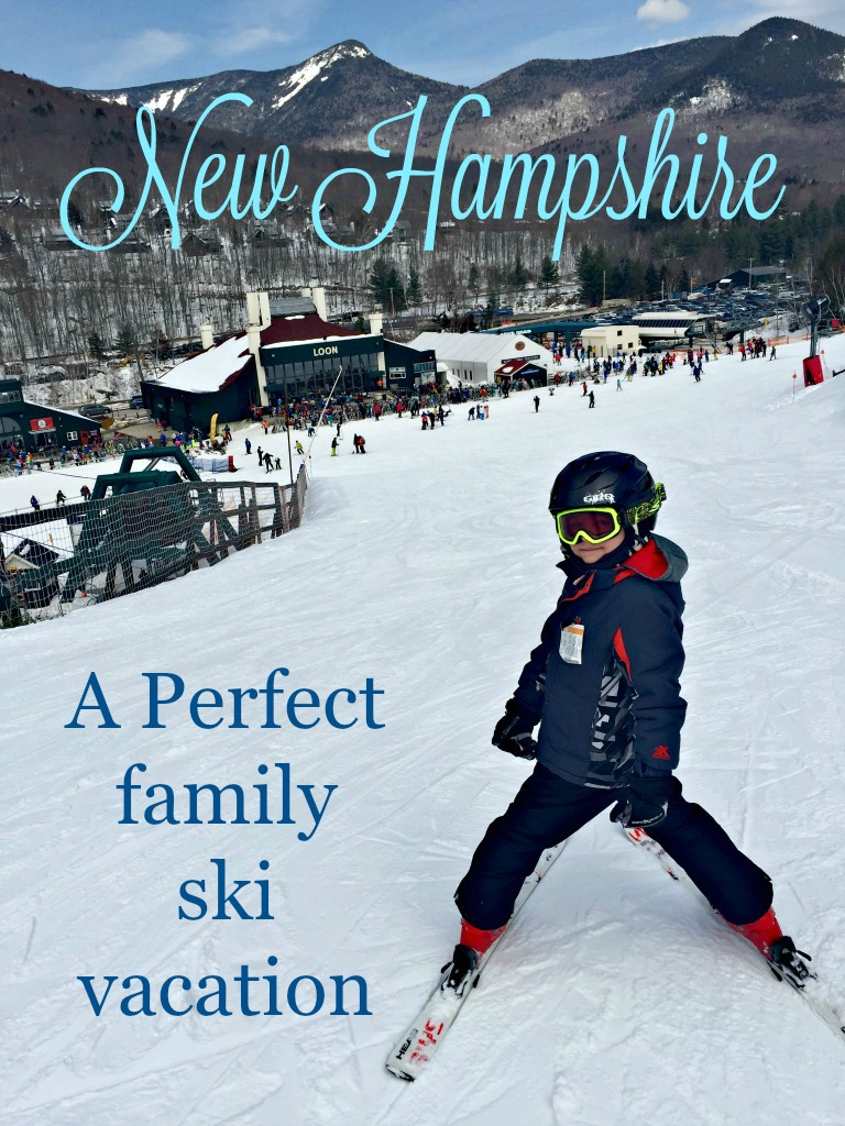Why New Hampshire is our family ski vacation choice! Recommendations for slopes, restaurants and hotels. www.thedailyadventuresofme.com