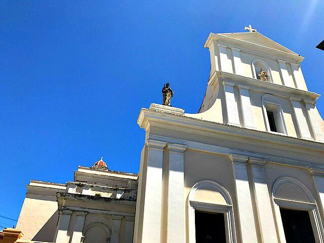Catedral de San Juan Bautista in San Juan, Puerto Rico. www.thedailyadventuresofme.com
