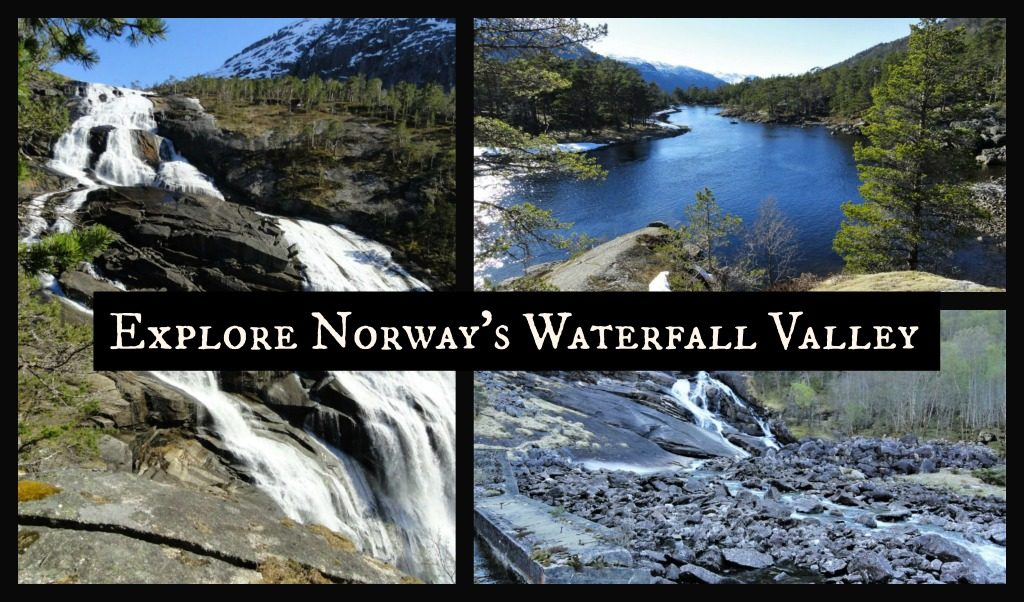 Hiking to Norway's Waterfall Valley Hike to see Norway Waterfalls