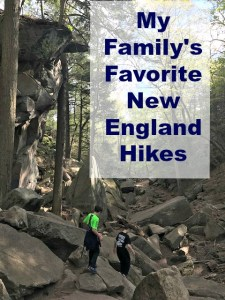 Get out into the forests and coastline of New England with these fantastic family hikes. #sponsored #PureLife35pk