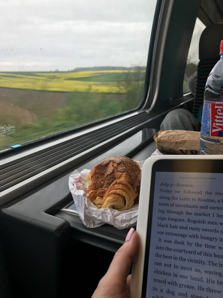 Train travel from Paris to Bruges. thedailyadventuresofme.com