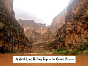 Bucket List Travel: A Rafting Trip Down the Grand Canyon